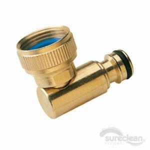 brass swivel connector