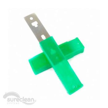 glass scraper blades cm pack