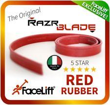 Razr Blade Red Rubber