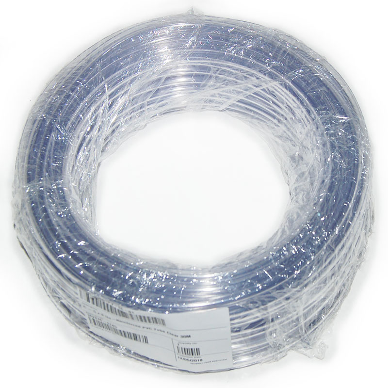 Clear pole hose