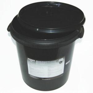 High capacity resin bucket